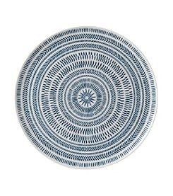 ED Ellen DeGeneres Crafted by Royal Doulton® Cobalt Blue Chevron Serving Platter