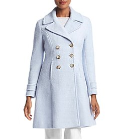 Ivanka Trump® Fit & Flare Boucle Coat