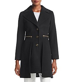 Trina Turk Gold Detail Walker Coat