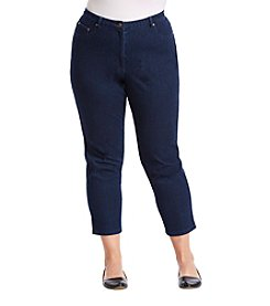 Alfred Dunner® Plus Size Cropped Jeans