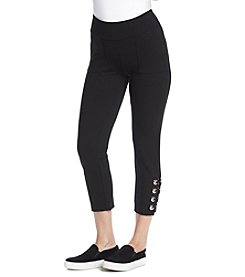 Ivanka Trump® Athleisure Grommet Crop Leggings