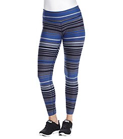 Calvin Klein Performance Journey Stripe Ruched Back Leggings