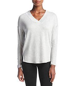 Calvin Klein Performance Drop Shoulder Split Hem Top