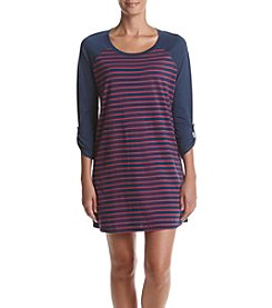 KN Karen Neuburger Striped Sleepshirt