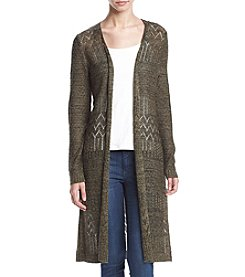Love Always Pointelle Duster Cardigan