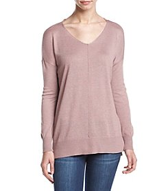 Pink Rose® Oversized V-Neck Sweater