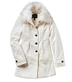 Jessica Simpson® Girls' 7-16 Faux Fur Collar Jacket