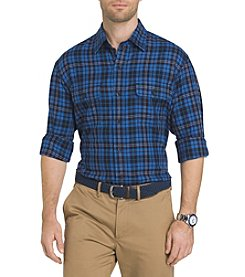 IZOD® Long Sleeve Harbor Plaid Button Down Shirt