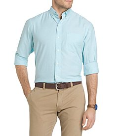 IZOD® Long Sleeve Oxford Button Down Shirt