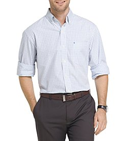 IZOD® Long Sleeve Tattersall Button Down