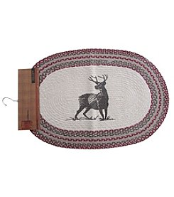 Ruff Hewn Cotton Printed Deer Accent Rug