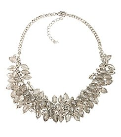 ABS Allen Schwartz Smoky Cluster Necklace
