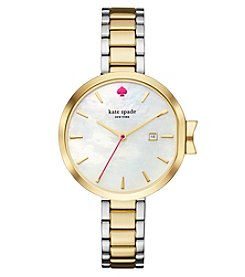 kate spade new york® Two-Tone Park Row Watch