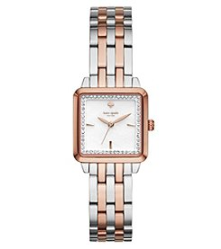 kate spade new york® Two-Tone Washington Square Watch