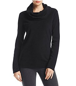 Exertek Cowl Neck Micro Fleece Sweater