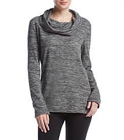 Exertek Cowlneck Micro Fleece Spacedye Tee