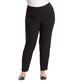 Briggs New York Plus Size Slim Dress Pants