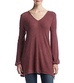 AGB® Ribbed Knit Tunic