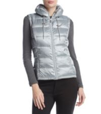 Calvin Klein Metallic Puffer Vest (Multi Colors)