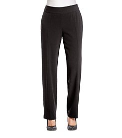 Briggs New York Petites' Stitched Crease Pants