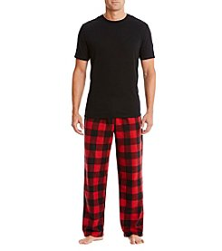 John Bartlett Statements Men's Tee Shirt & Plaid Pants Pajama Set