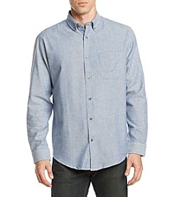 John Bartlett Consensus Solid Flannel Button Down Shirt