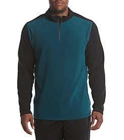Exertek Men's Big & Tall Colorblocked Microfleece Pullover