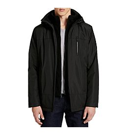 Calvin Klein Fleece Lined Hooded Jacket