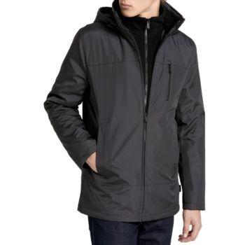 10800a4e550 Calvin Klein Fleece Lined Hooded Jacket