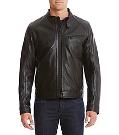 Michael Kors Faux Leather Orono Jacket