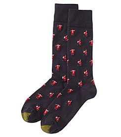 GOLD TOE Men's Golfing Santa Dress Socks
