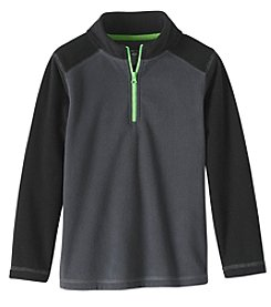Exertek Boys' 4-7 Long Sleeve 1/4 Zip Microfleece Sweatshirt