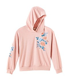 Speechless Girls 7-16 Embroidered Hoodie