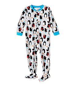 Carter's Baby Boys' 2T-8 One Piece Penguin Fleece Sleep & Play