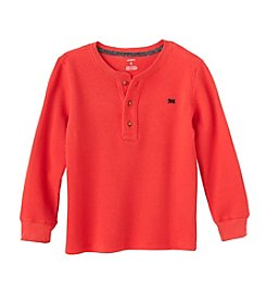 Carter's Boys' 4-8 Long Sleeve Thermal Henley Top