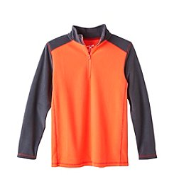 Exertek Boys' 8-18 Long Sleeve 1/4 Zip Micro Fleece Sweatshirt