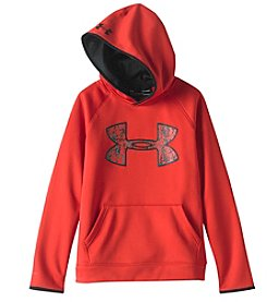 Under Armour® Boys' 8-20 Solid Big Logo Hoodie