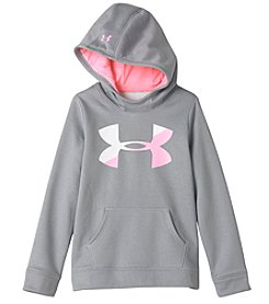 Under Armour® Girls' 7-16 Big Logo Solid Fleece Hoodie