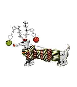 Studio Works Dachshund Sweater Pin