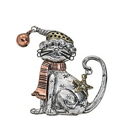Studio Works Three Tone Cat Pin