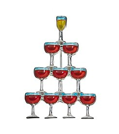 Studio Works Wine Tree Pin
