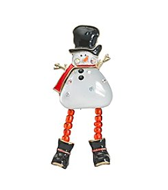 Studio Works Snowman Pin with Shaky Legs