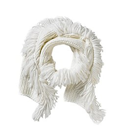Vince Camuto All Over Fringe Scarf