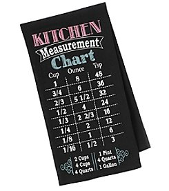 Chef's Quarters Kitchen Measurement Flour Sack Towel