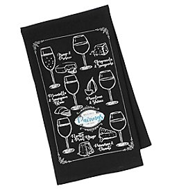 Chef's Quarters Wine Knowledge Flour Sack Towel