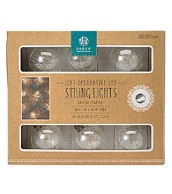 Order Home Collection 10' Glass Bubbles String Lights