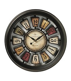 FirsTime Antique Numeral Plaque Clock