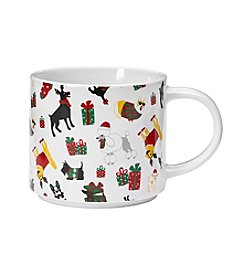 John Bartlett Dogs With Gifts Mug