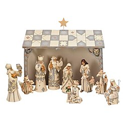 Heartwood Creek by Jim Shore Woodland 11-Piece Nativity Set