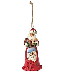 Heartwood Creek by Jim Shore Santa with Stuffed Animals Ornament
